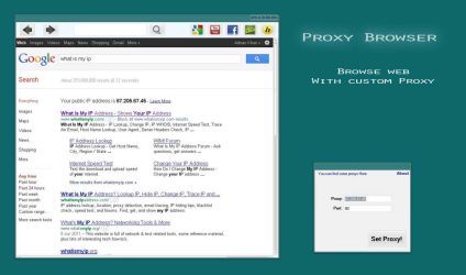 PWB - Proxy Web browser by CyWin