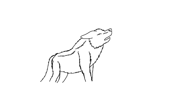 Wolf Free To Use by Krispii200