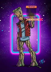 Teenage Groot by DazTibbles