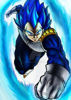 Vegeta Ss Blue by nic011
