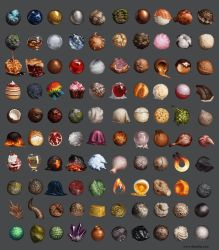 100 Material Studies by Darantha