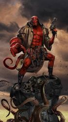 Straight to Hellboy by uncannyknack