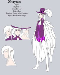 The Devils within:Shays ref by cutecat54546