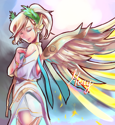 Mercy GODness by xxHazukiixx