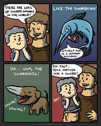 Swords VII by mjwills