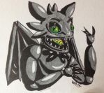 I'm not a real dragon, but your real nightmare by VanderDecken-lX