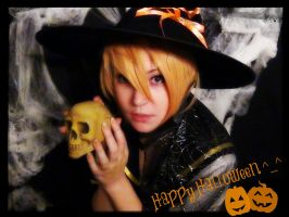 Heppy Halloween from Len Kagamine by WhiteSpringPro