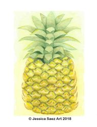 Pineapple by Pequena-Artista