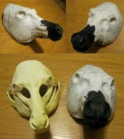 Horse resin blank by Crystumes