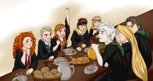 TBF First Night at Hogwarts by yunnasukiga5