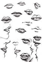 Lips by surges