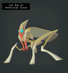 CDC Jun 2018 Day 6 - Anthilian Scout by EVanimations
