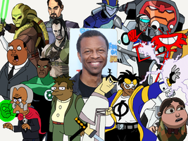 Character Compilation: Phil LaMarr by Melodiousnocturne24