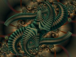 Robo Tentacles... by LaxmiJayaraj
