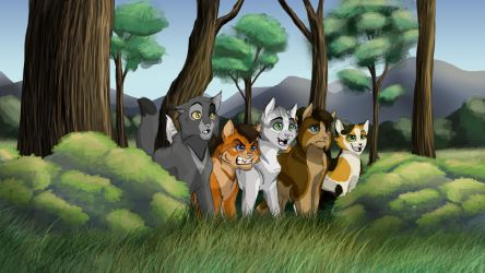 The Gang by Ebonycloud-Graphics