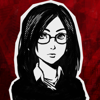 Persona-fied Self-Portrait by Dice9633