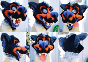 [SOLD] Halloween Werewolf Head by Cavity-Sam