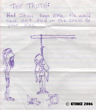 Emo Jesus Wouldn't work by ktmhz