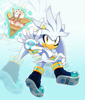 Silver The Hedgehog by SonicTheEdgehog