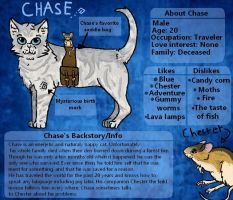 Chase Reference Sheet by LINXthepowerful