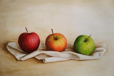 Three Apples by Itherin