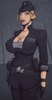Imperial Officer by devilhs