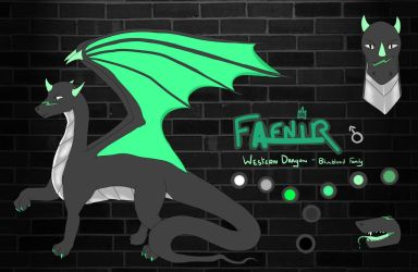 Oc reference : Fafnir by CrystalAzzy