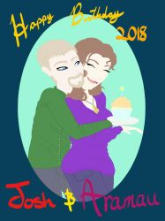 Happy Birthday Josh and Ari by TheDreamSage