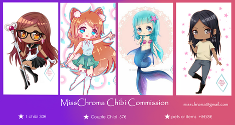 Chibi Commission 2018 by MissChroma