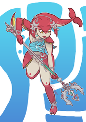 Water Warrior [BotW] by Soulfire402