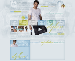 Layout ft. Dylan O'Brien by Andie-Mikaelson