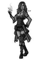 Pathfinder: Lalita Zaire Concept 2 by OutlawOrange