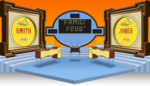 Family Feud set 1981-85 by wheelgenius