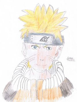Naruto Shipuden colo by Fire-wing-96
