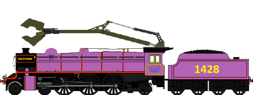My evil O.C., Wildtrain, upgraded by Duel-Express