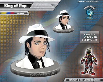 King of Pop by lgp85