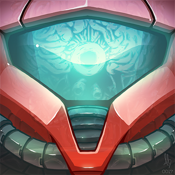 0017 - Samus by BrownBair