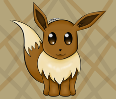 Day 72: Eevee by NoxYukianesa