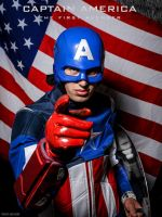 Captain America (The Avengers) by indyjones78