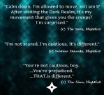 Nightfall - Fear and Prejudice - Quotes by AKoukis