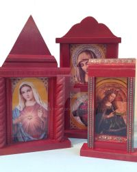 New Religious Icon Free standing collage work