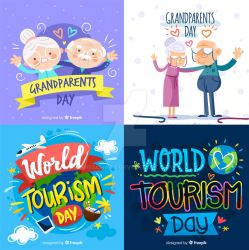 World Tourism Day and Grandparents Day by MissChatZ
