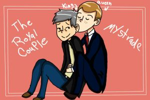 Mystrade: The Royal Couple by ikriam