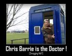 Doctor Who - Chris Barrie is the Doctor by DoctorWhoOne