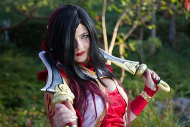Warring Kingdoms Katarina [League of Legends] by CalypsoUchiha