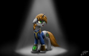 LittlePip in the dark by Setharu