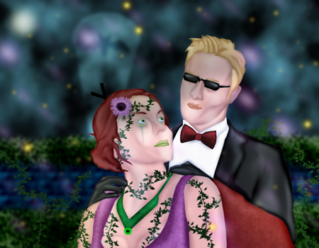 Firefly Garden: Albert and Pamela by GronHatchat