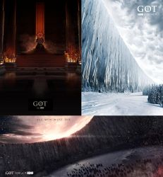 Game of thrones locations by Melaamory