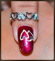 Two Hearts by Gorgeousnails