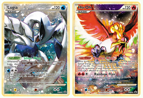 Lugia and Ho-Oh FA by Blui129